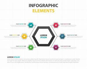 Colorful Infographic Elements Template Vector