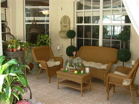 8 to the patio furniture arrangement