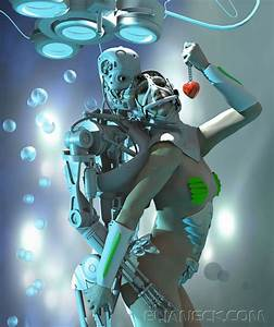We by elianeck on deviantart for Robots romance