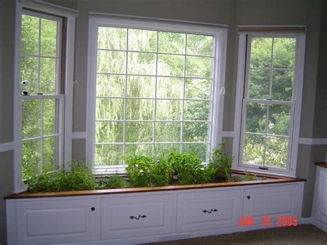 Window Garden Plants by Window Seat Turned Indoor Herb Garden Planties Indoor