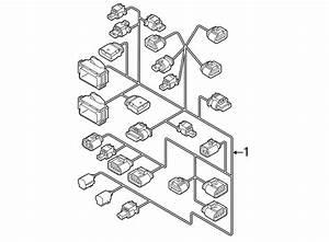 Volkswagen Beetle Convertible Engine Wiring Harness  2 0