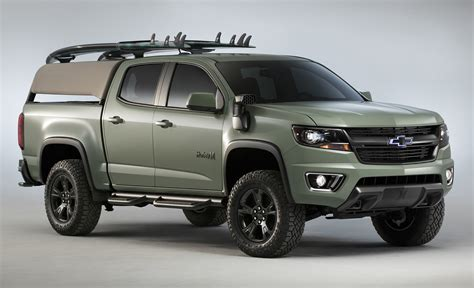 Chevrolet Colorado Hurley & Trax Active Concepts Debut At