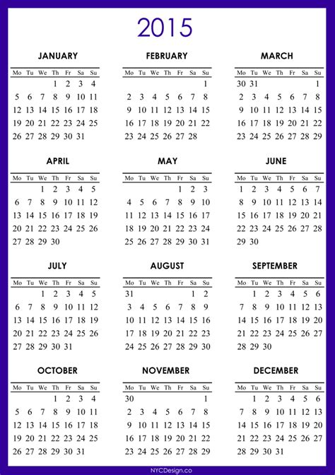 printable calendar pictures images