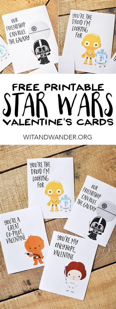 Star Wars Valentine Printable