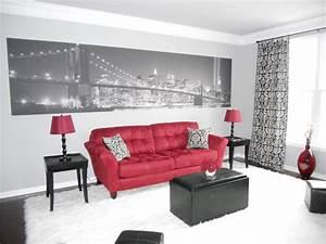 Red and black living room decor marceladickcom for Black and red living room decor