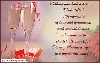 Anniversary Couple Happy Wonderful