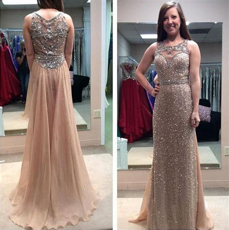 walk in shower size gold sequin prom dresses see through prom dress sparkly