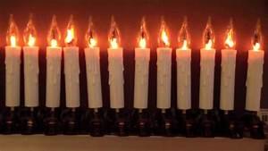 Guirlande Electrique Noel : guirlande lectrique bougies flamme youtube ~ Teatrodelosmanantiales.com Idées de Décoration