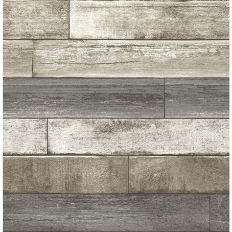 1080 x 1920 px post dates : Brewster Wallcovering Reclaimed 56-sq ft Grey Non-Woven Textured Wood 3D Wallpaper at Lowes.com