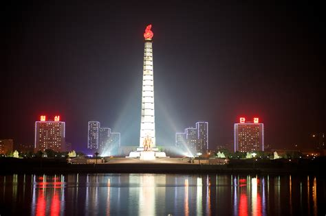 juche tower hd wallpapers background images