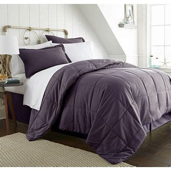 california king purple comforters bedding sets for bed bath jcpenney