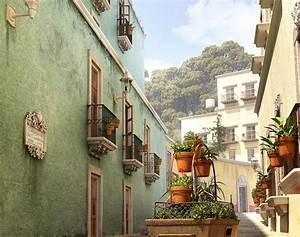 Guanajuato, Alley, 2019, By, Artecnl, U00b7, 3dtotal, U00b7, Learn