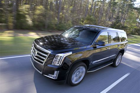 cadillac escalade top speed