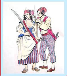 sans culottes  female revolutionary page  la