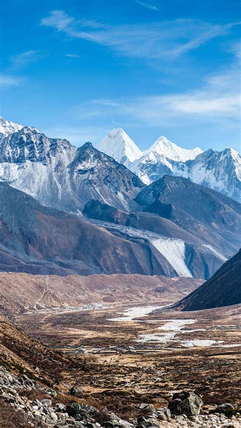 wallpaper ama dablam nepal mountains  nature