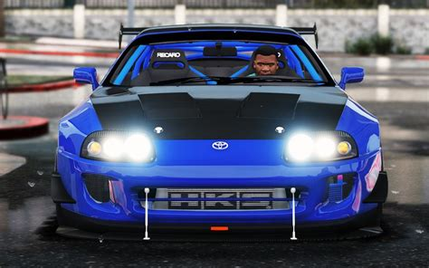 gta 5 toyota supra add on stock more tuning mod