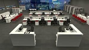 Workstation Design: 5 Inspiring Office Workstation Layout ...