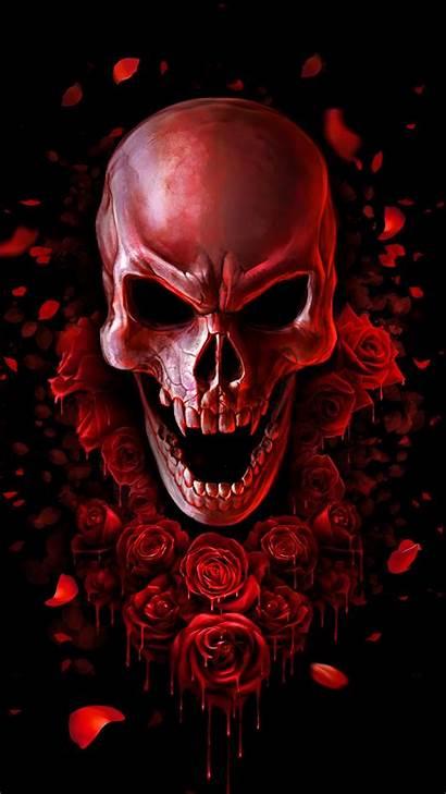 Blood Skull App Android Screen Supreme Apkpure