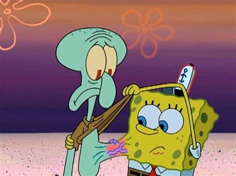 Spongebob And Squidward Are Like Brothers... Only Closer