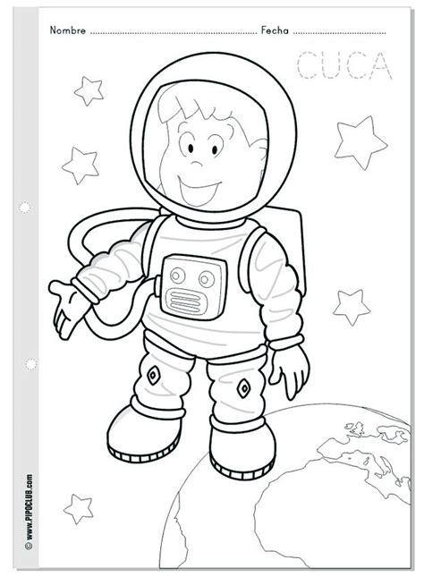 astronaut coloring page space crafts preschool coloring pages space coloring pages