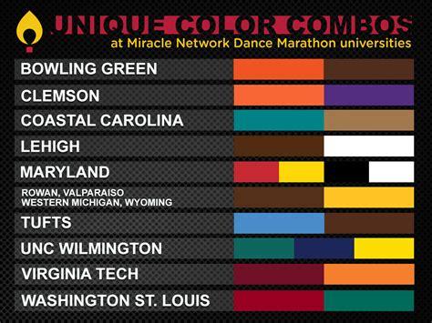 college colors marathon celebrates college colors day miracle
