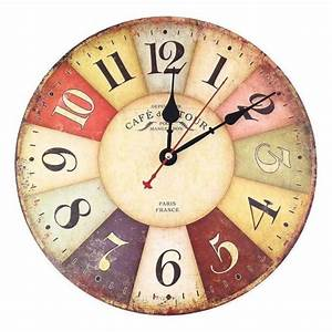 Pendule De Cuisine Moderne : reloj de pared de cuarzo estilo vintage reloj de pared vintage ~ Carolinahurricanesstore.com Idées de Décoration