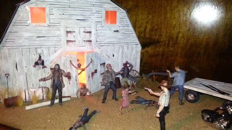 Walking Dead Barn Scene Diorama