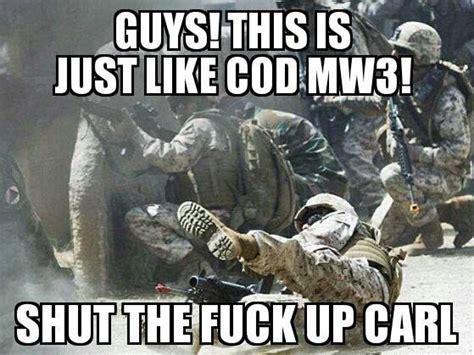 Shut Up Carl Meme - the gallery for gt military meme carl