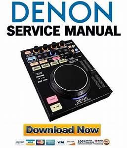 Denon Dn Sc2000 Service Manual  U0026 Repair Guide