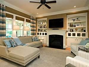 Classic & Simple Family Room Rebecca Driggs HGTV