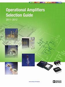 Operational Amplifiers Selection Guide