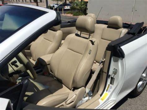 sell   toyota solara  convertible sle automatic