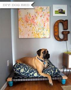 Easy and affordable diy dog bed ideas homestylediarycom for Diy dog beds for large dogs
