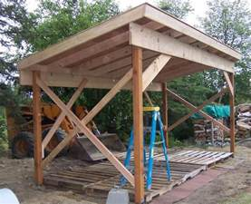 firewood shed plans 4 important tips when building a