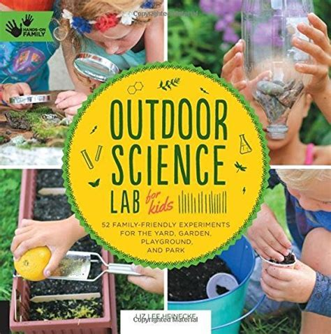 Outdoor Science Lab for Kids: Book Review   The Maker Mom