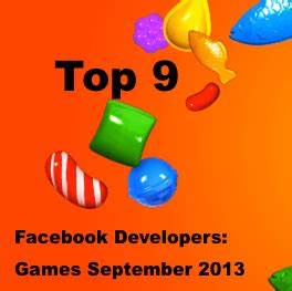 Top 9 facebook developer list games september 2013 for Facebook adding 10 games 2013