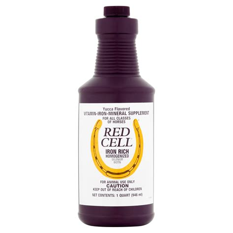 Horse Health Products Red Cell Iron Rich Homogenized ...