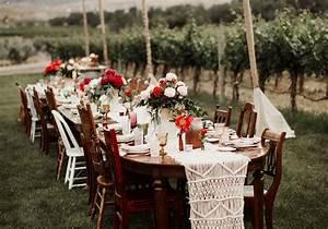 Nom De Table Mariage Champetre : table de mariage 35 id es d co dignes de ce grand jour elle d coration ~ Melissatoandfro.com Idées de Décoration
