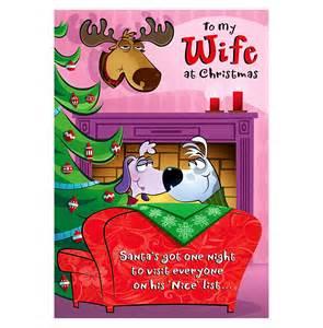 Funny Christmas Card Wife