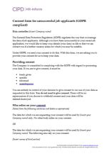 Data protection | CIPD HR-inform