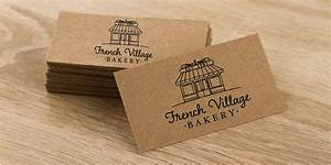 Brown kraft paper business cards for Brown kraft paper business cards