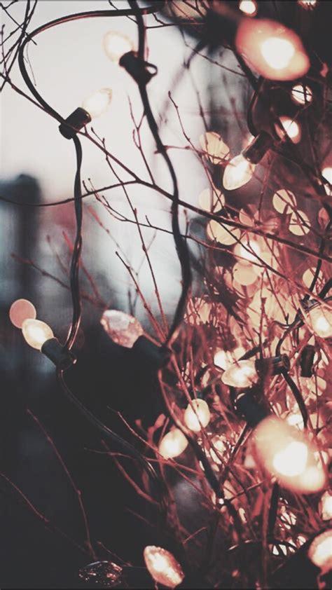 Christmas Lights iPhone Wallpaper Tumblr