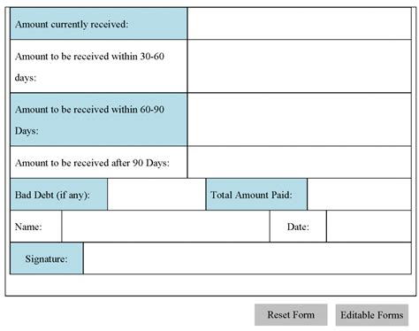 accounts receivable form gallery of accounts payable spreadsheet template