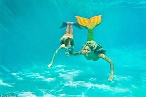 Kazzie Mahina the real-life mermaid who swam with sharks ...