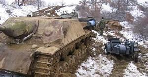 German Panzer Tank Wrecks Recovered in Bulgaria