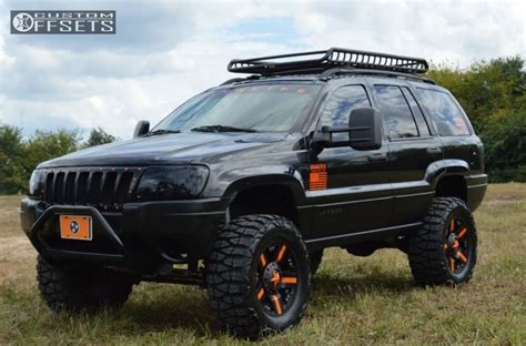 2004 jeep grand cherokee custom wheel offset 2004 jeep grand cherokee aggressive 1 outside