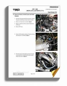 Toyota Engine 2rz 3rz Sc Repair Manual