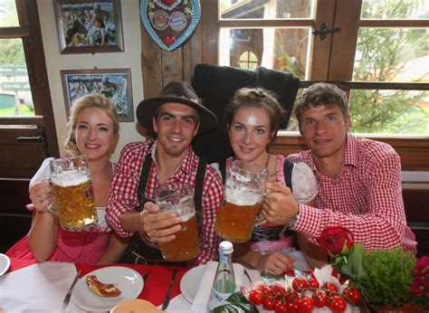The oktoberfest is powered via 43 kilometers of cable and 18 partially underground transformer stations. Gallery: FC Bayern Muenchen attends Oktoberfest 2013