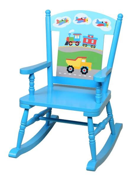child rocking chairs transportation themed rocker