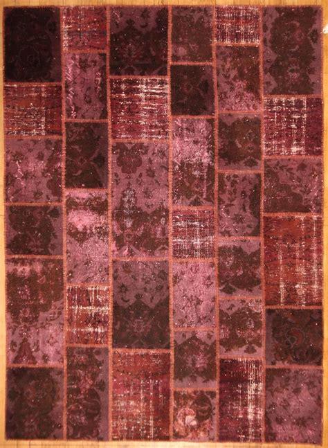 tappeti in nuova tendenza dei tappeti patchwork colori acidi il